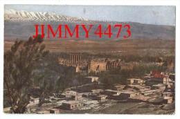 CPA POST CARD - Scans Recto-Verso - BAALKEK Liban - Vue g�n�rale de l' Acropole en 1923 - Edit. CHOUHA Fr�res � ALEP
