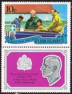 Cook Islands SG347 1971 Royal Visit 10c Unmounted Mint - Cook Islands