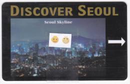 Dragon Hill Lodge / Seoul - Clé De Chambre - Hotelkarten