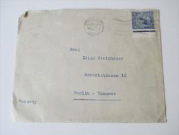 GB 1928 Einfachfrankatur 2 1/2 Pence Mit Bogenrand Rechts! - 1902-1951 (Könige)