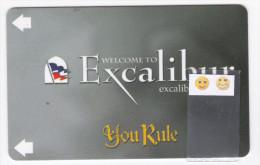 Las Vegas - Hôtel Excalibur - Clé De Chambre - Cartes D'hotel