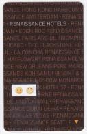 Renaissance Hôtels - Clé De Chambre - Hotelkarten