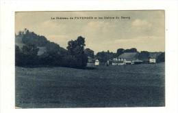 Cpa Le Chateau De FAVERGES Et Les Usines Du Bourg - Ohne Zuordnung