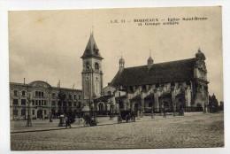 CP , 33 , BORDEAUX , Eglise Saint-Bruno Et Groupe Scolaire - Bordeaux