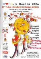 Mons- Ancien Programme Du Doudou Et Du Festival De Musiques Militaires (2006) - Programma's