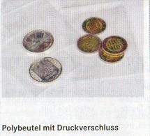100 Polybeutel/Verschluß Größer Neu 5€ Schutz/Sortieren Figuren/Abzeichen #785 Lindner 120x170mm For Stamp,coin Of World - Magnets