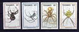 Transkei - 1987 - Spiders - MNH - Transkei