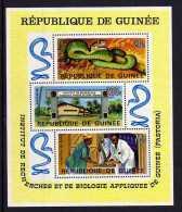 Guinea - 1967 - Pastoria Research Institute Miniature Sheet - MNH - Guinée (1958-...)