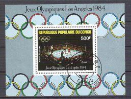 Congo 1984 Sport, Perf. Sheet, Used O.021 - Congo - Brazzaville