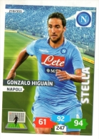 FIGURINA TRADING CARD PANINI ADRENALYN XL 2013-2014 - NAPOLI - GONZALO HIGUAIN - Edizione Italiana