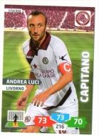 FIGURINA TRADING CARD PANINI ADRENALYN XL 2013-2014 . LIVORNO - ANDREA LUCI - Panini