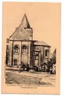 CP, 86, JAZENEUIL, L'Eglise Romande (XIe Et XIIe Siècles), Façade Latérale Sud, Vierge - Other Municipalities