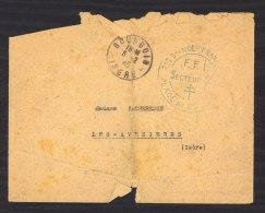 L 077  -  Lettre FFI Bourgouin Du 5/2/45 - Liberation