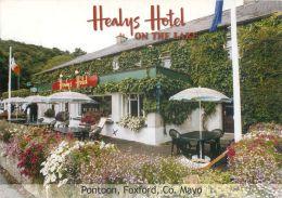 Healys Hotel, Pontoon, Foxford, Co Mayo, Ireland Eire Postcard Used Posted To UK 2005 Gb Stamp - Mayo