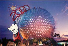 Epcot Spaceship Earth 2000, Disneyworld, Orlando, Florida, USA Postcard Used Posted To UK 2000 Stamp - Disneyworld
