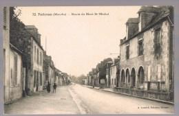 PONTORSON . Route Du Mont - Saint - Michel . - Pontorson