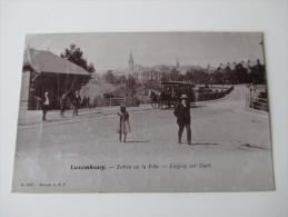 Fotokarte 1906 Luxembourg Entree De La Ville - Eingang Zur Stadt. No 3207 Brevete. L.D.F.  Gesendet Nach Epehy - Luxemburg - Stadt