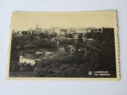 Postkarte Luxembourg Vue Generale. E. A. Schaack, Luxembourg Ungelaufen! - Luxemburg - Stadt