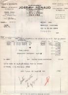 VP1061 - Ets J. RENAUD Fabricants De Tissus & Nouveautés à TARARE - Textile & Vestimentaire