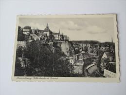 Postkarte Luxembourg Ville Haute Et Grund. Ungelaufen!Edition Marcel Gehlen No 7. - Luxemburg - Stadt