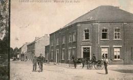 LEUZE-LONGCHAMPS      PLACE  DU  JEU  DE  BALLE - Eghezée