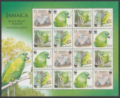 (WWF-393) W.W.F. Jamaica Bird / Birds MNH Sheetlet 2006 - Unclassified