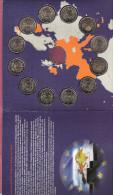 VERDRAG VAN ROME COMPLETE  SET VAN 2 EURO'S 12 COUNTRIES WITHOUT SLOVENIE COMPLEET ZONDER SLOVENIE - EURO