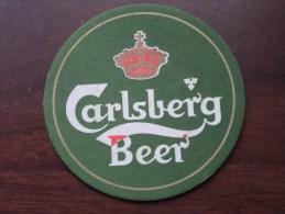 CARLSBERG BEER ( Sous Bock / Coaster / Onderlegger ) Zie Foto´s Voor Detail ! - Beer Mats