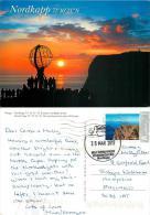 Nordkapp, Norway Postcard Posted 2013 Stamp - Norvège