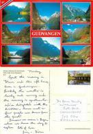 Gudvangen, Norway Postcard Posted 2007 Stamp - Norwegen