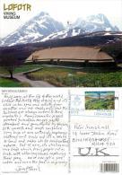 Lofotr Viking Museum, Norway Postcard Posted 2012 Stamp - Norvège