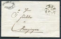 1845 Lahr Baden-Württemberg Vorphila Brief Nach Kenzingen - Germany