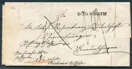 1851 Bad Dürrheim Vorphila Nach Donaueschingen - Baden