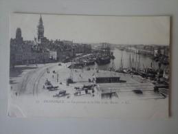 CPA 59 DUNKERQUE VUE DE LA VILLE ET DES BASSINS - Dunkerque
