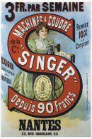 MAGNET (FRIDGE MAGNET) SIZE.7X5 CM. APROX - Singer Advertising - Deportes