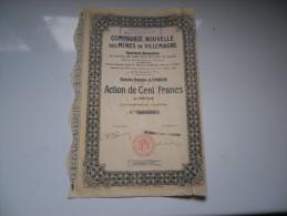 Compagnie Nouvelle Des MINES DE VILLEMAGNE - Shareholdings