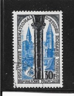 N° 986  FRANCE - Eglise St Philibert  -  1954  Oblitéré - Usados