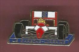 35274-Pin's.F1.rallye Auto.signé Carbone Lorraine France. - F1