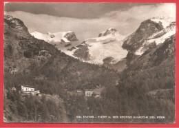 CARTOLINA VG ITALIA - VAL D'AYAS - Fiery - Sullo Sfondo Ghiacciai Del Rosa - 10 X 15 - ANNULLO CHAMPOLUC 1953 - Italia