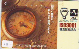 Télécarte Japon * COMPASS * JAPAN (18)  KOMPAS * KOMPASS * Phonecard * TELEFONKARTE - Astronomie