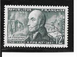 N° 1014  FRANCE - Nicolas Appert  -  1955  Oblitéré - Usados