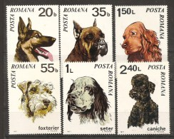 Romania Dogs MNH - 1948-.... Republics
