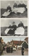 CPSM - VOLENDAM - Lot De 3 Cartes - Costumes - Editions Nadruk - Volendam