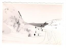 Suède - Valadalen - Photo Originale - Ski De Fond - Format 9.4 X 6.4 Cm - Lieux