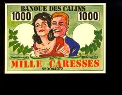 Billet De La Banque Des Calins 1000 Caresses Banknote - Monnaies (représentations)