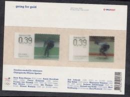 Nederland 2006 Blok Nr 2415+2415 Going For Gold Ard Schenk En Yvonne Van Gennip.´ ++ POSTFRIS MNH ** - 1980-... (Beatrix)