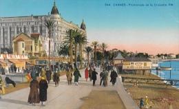 Cannes Promenade De La Croisette - Carte RM Non Circulée - Cannes