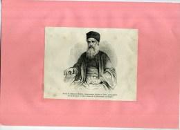 - LE R.P. R. ESTEVE MISSIONNAIRE JESUITE PROPAGATEUR DE L. GRAVURE SUR BOIS  DU XIXe S . DECOUPEE ET COLLEE SUR PAPIER . - Religión & Esoterismo