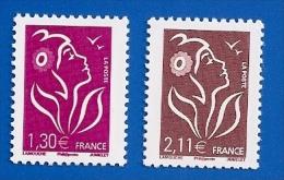 FRANCE 3971 + 3972 NEUFS ** MARIANNE DE LAMOUCHE - 2004-08 Marianne Of Lamouche