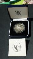 ESTLAND ESTONIA Estonie 1992 Silver Coin Rauchschwalbe 999/1000 Silbermünze + Original Box +sertificate - Estland